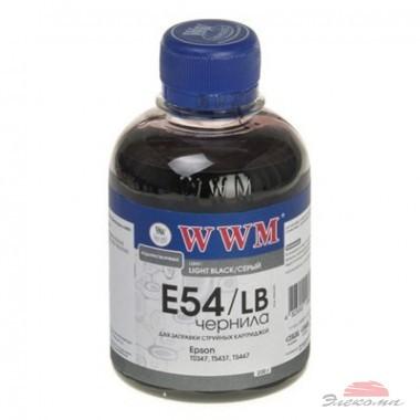 Чернила WWM EPSON StPhoto2100/2200/Pro4000/7600/9600/10600 Light Black (E54/LB)