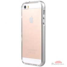 Чехол для моб. телефона Avatti Mela Double Bumper iPhone 5/5S gray (153371)