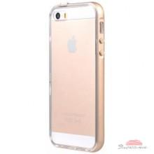 Чехол для моб. телефона Avatti Mela Double Bumper iPhone 5/5S gold (153373)