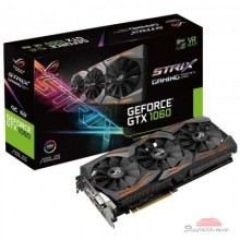 Видеокарта ASUS GeForce GTX1060 6144Mb ROG STRIX GAMING (STRIX-GTX1060-6G-GAMING)