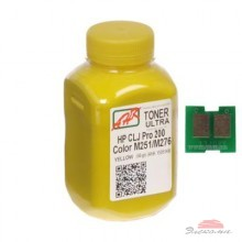 Тонер AHK HP CLJ Pro 200/M251/M276n (131A) Yellow+chip (1505160)