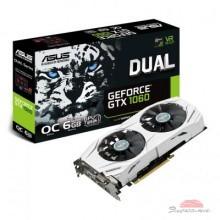 Видеокарта ASUS GeForce GTX1060 6144Mb DUAL OC (DUAL-GTX1060-O6G)