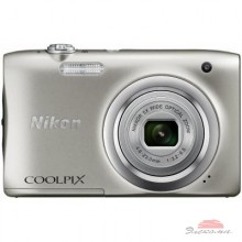 Цифровой фотоаппарат Nikon Coolpix A100 Silver (VNA970E1)