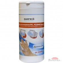 Салфетки DATEX for TFT/PDA/LCD tub-50x50-pack (5835R)