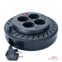Сетевой удлинитель SVEN Spool 3G-5M, black (Spool 3G-5m)