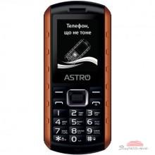 Мобильный телефон Astro A180 RX Black Orange