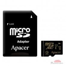 Карта памяти Apacer 128GB microSDHX UHS-I Class10 w/ 1 Adapter RP (AP128GMCSX10U1-R)