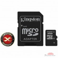 Карта памяти 32Gb microSDHC class 4 Kingston (SDC4/32GB)