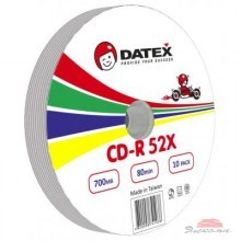 Диск CD-R DATEX 700MB 52X Bulk 10 pcs (5953821)
