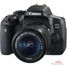 Цифровой фотоаппарат Canon EOS 750D 18-55 IS STM (0592C027)