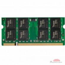 Модуль памяти для ноутбука SoDIMM DDR2 2GB 800 MHz Team (TED22G800C6-S01 / TED22G800C6-SBK)