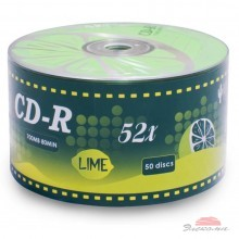 Диск CD-R KAKTUZ 700MB 52X Bulk 50 pcs ''LIME'' (901OEDRKAF023)