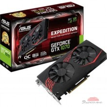 Видеокарта ASUS GeForce GTX1070 8192Mb EXPEDITION OC (EX-GTX1070-O8G)