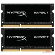 Модуль памяти для ноутбука SoDIMM DDR3 16GB (2x8GB) 1866 MHz HyperX Impact Black Kingston (HX318LS11IBK2/16)