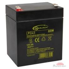 Батарея к ИБП 12В 4.5 Ач GEMIX (LP12-4.5)