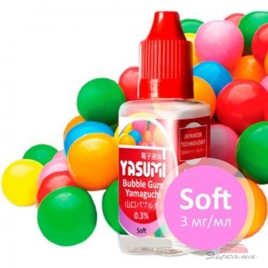 Жидкость для электронных сигарет Yasumi Bubble Gum Yamaguchi 3 мг/мл (YA-BG-3)