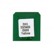 Чип для картриджа OKI C3300/3400/3600 (2.5K) Black BASF (WWMID-71103)